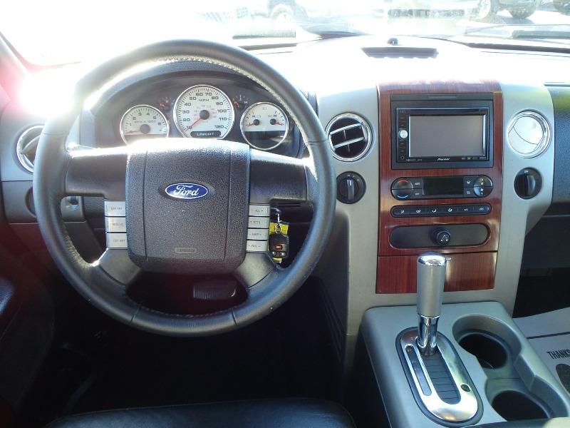 2006 FORD F150 CREW CAB BLACK