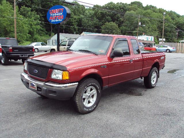 2003 FORD RANGER RED