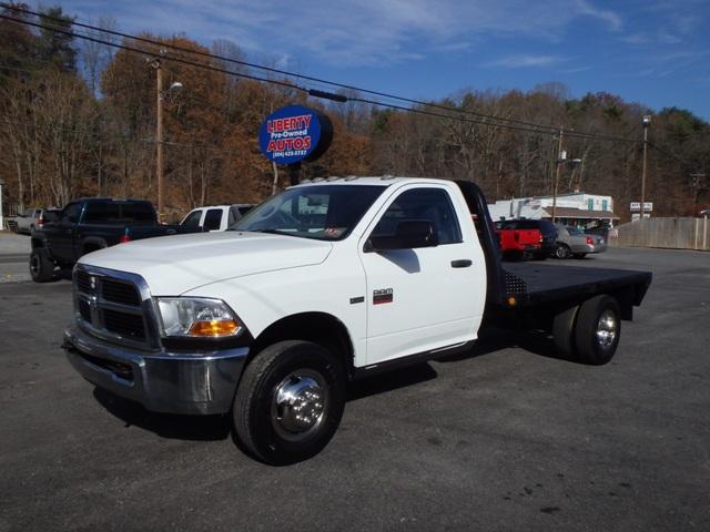 2011 DODGE RAM 3500 FLATBED