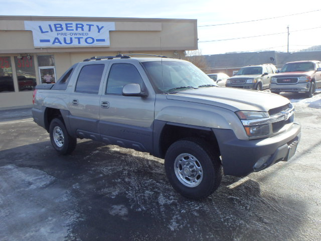 2002 CHEVY AVALANCHE 2500