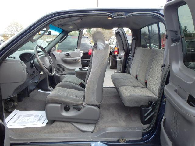 2002 FORD F150 EX. CAB BLUE