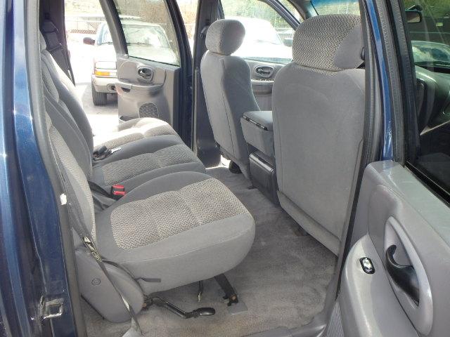 2002 FORD F150 CREW CAB BLUE