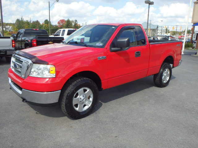 2004 FORD F150 RED