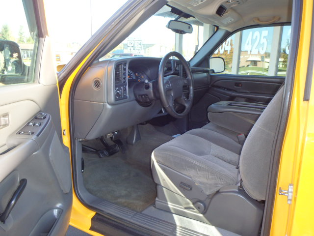 2007 CHEVY SILVERADO 1500 YELLOW