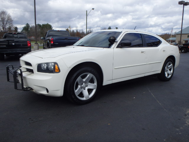 2008 DODGE CHARGER WHITE
