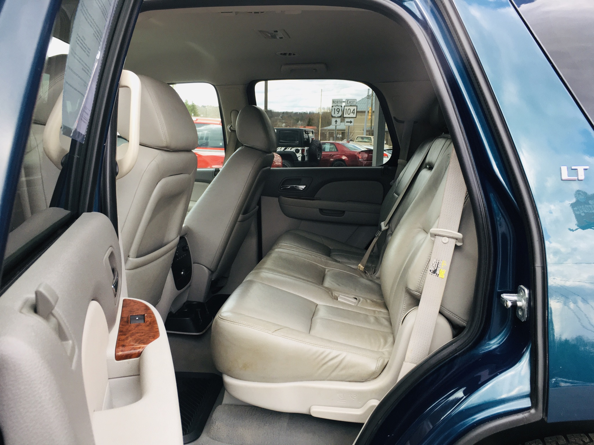 2007 CHEVY  TAHOE BLUE