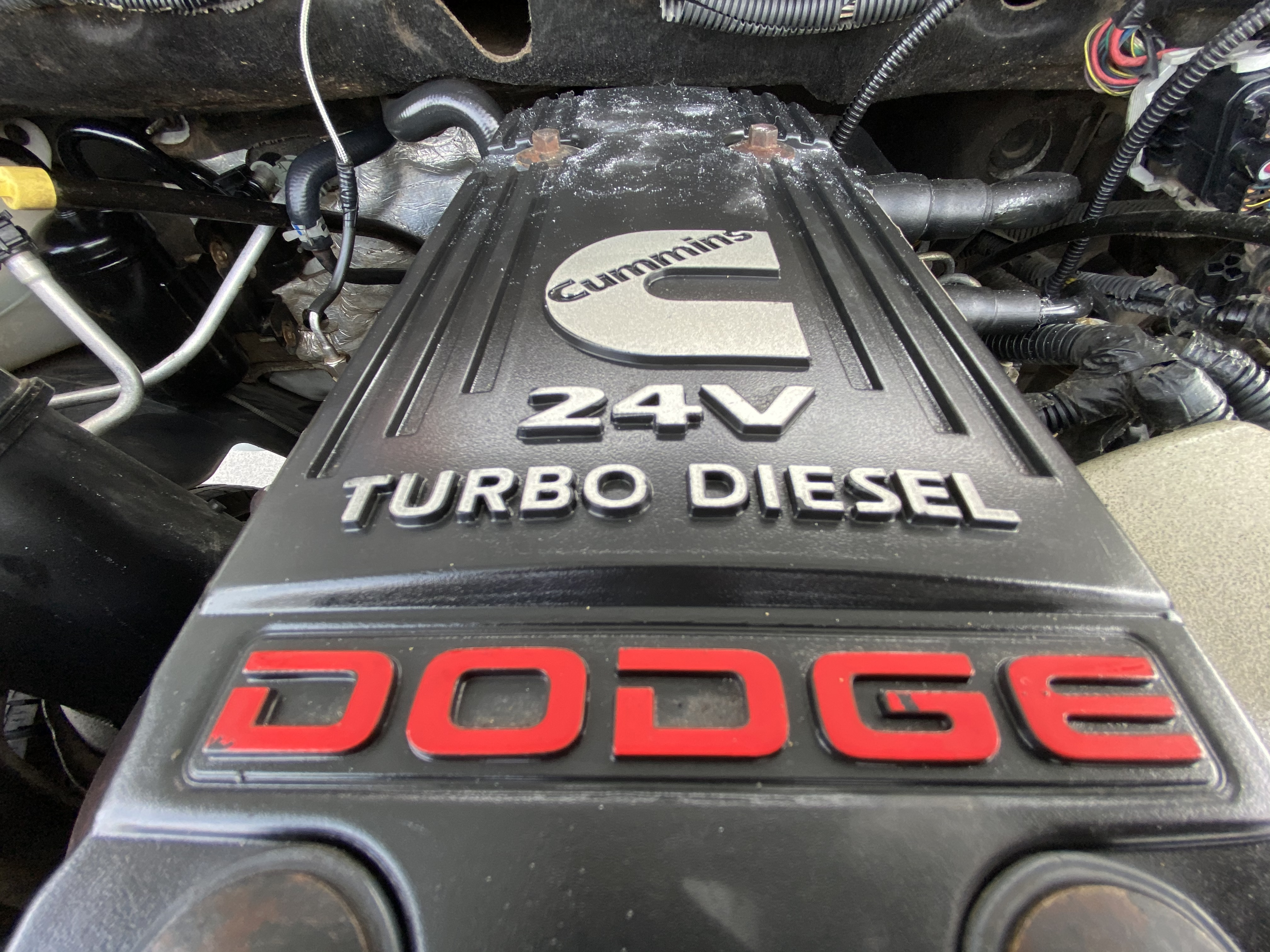 2006 DODGE  RAM 2500 WHITE