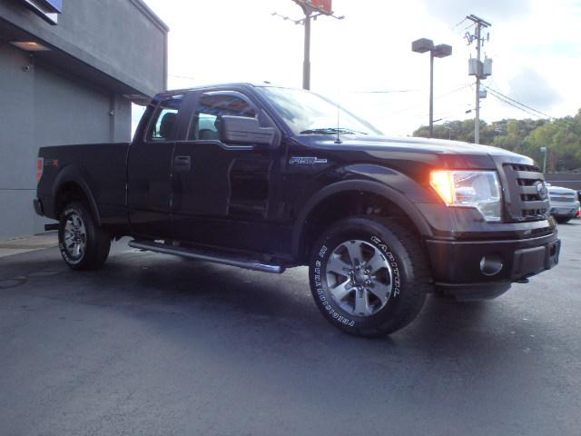 2012 FORD F150 BLACK