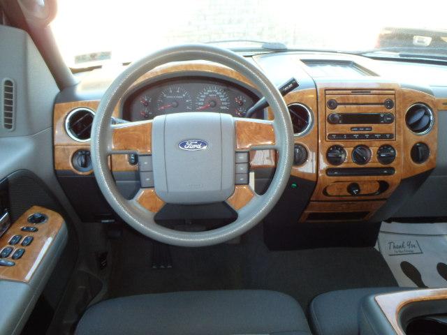 2006 FORD F150 SILVER